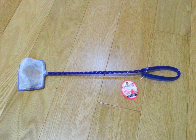 小魚用の網
