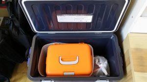 水槽を引っ越しさせる手順をご紹介 ~メダカはクーラーボックスで運ぶ~