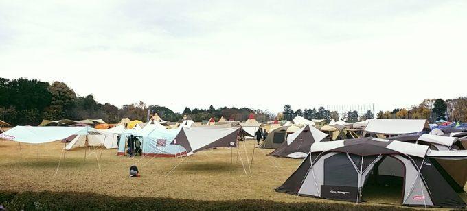 いろいろなテントの種類
