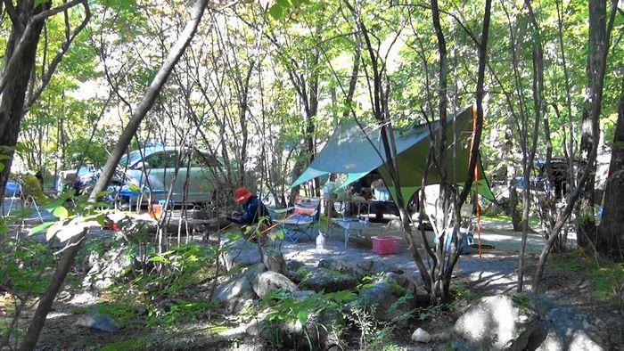 ACNオートリゾートパーク・ビッグランド 木陰のサイト