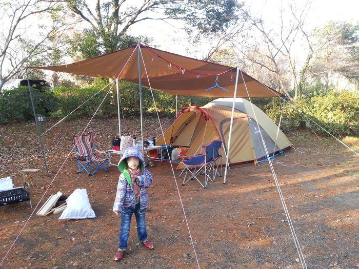イレブンオートキャンプパーク 設営完了