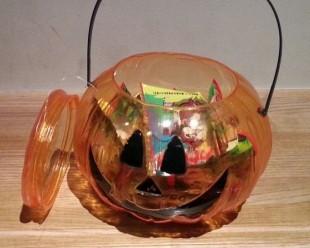 子供おかし入れ物 かぼちゃ 2