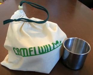 カクセー キャメルウィル キャンピング鍋 8点セット 袋に収納