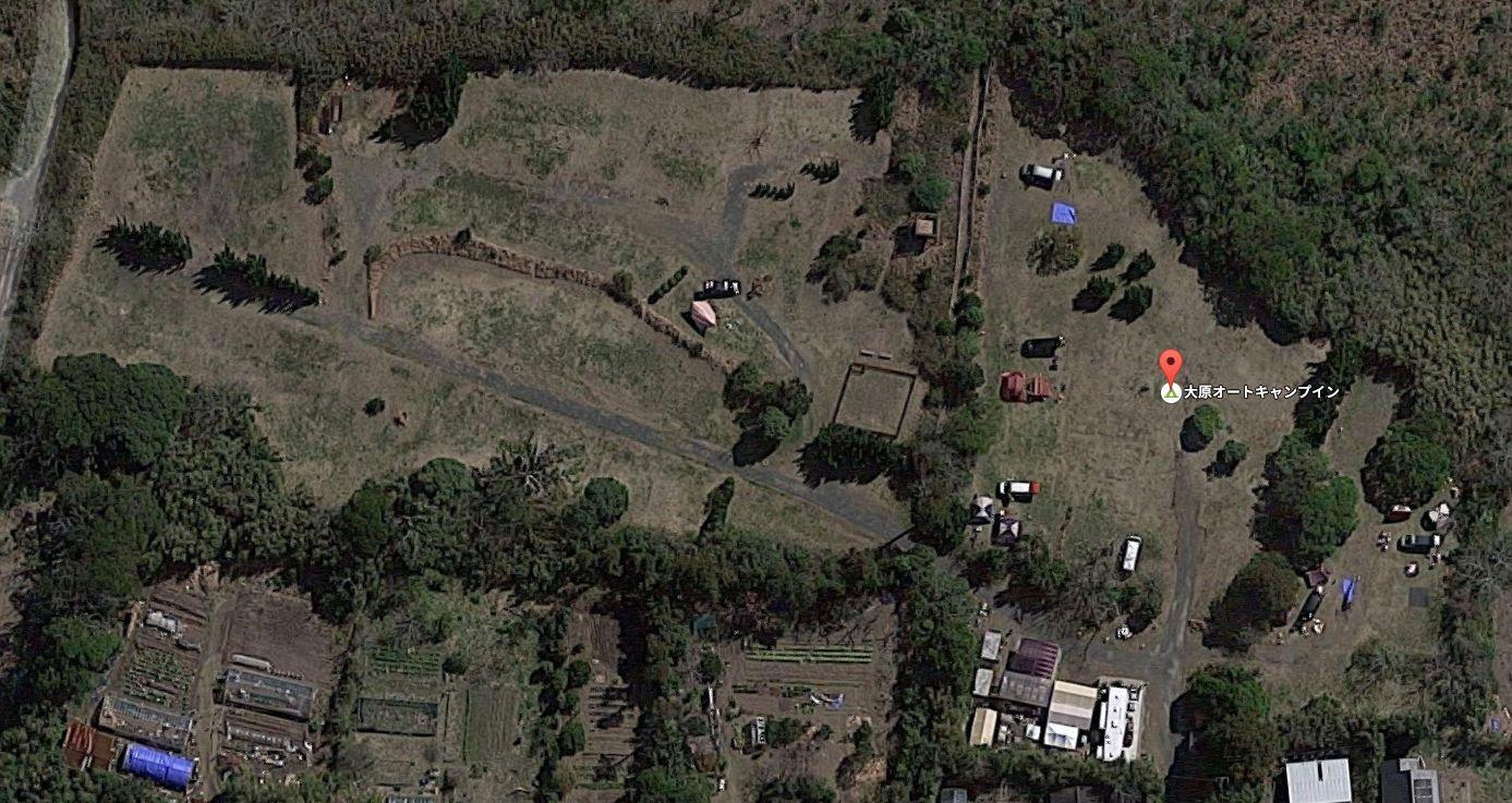 大原オートキャンプインそとぼうgoogleマップ