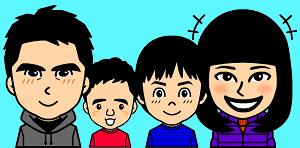 家族イラスト(大)