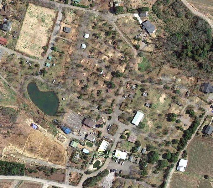 イレブンオートキャンプパーク Googleマップ