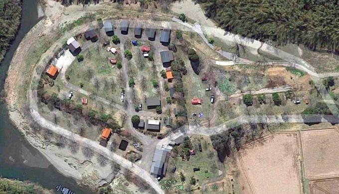 かずさオートキャンプ場 Googleマップ