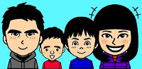 家族イラスト(中)