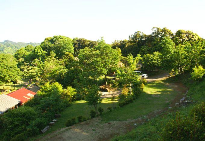 オートキャンプ場志駒の風景