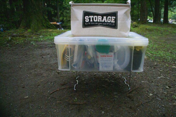 ニトリのキッチンラックに重いクリアケースを載せても大丈夫