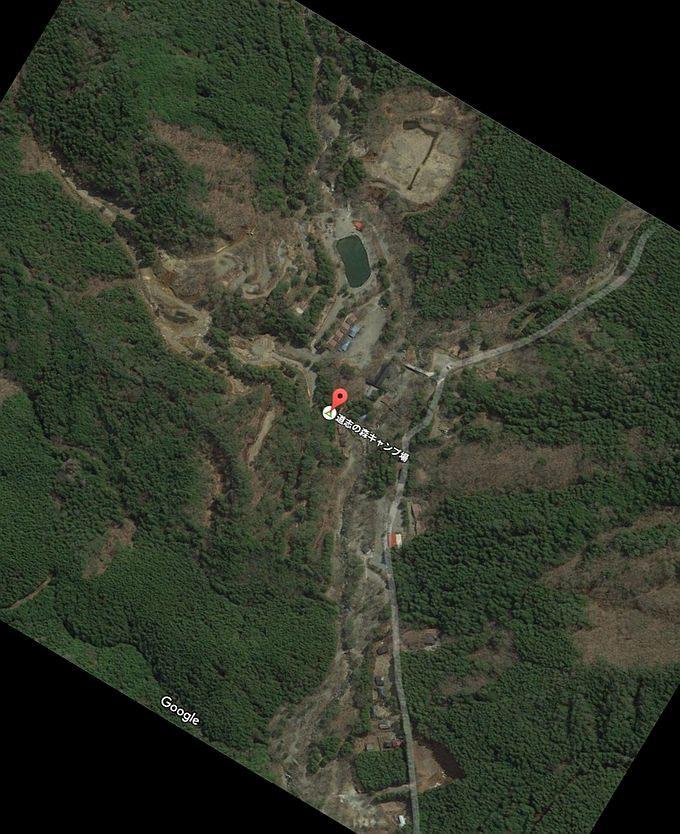 道志の森キャンプ場 Googleマップ