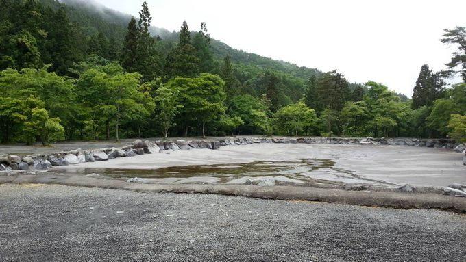 道志の森キャンプ場 プール