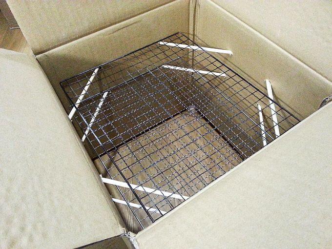 段ボール燻製器 の作り方5