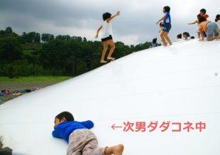 ふわふわジャンプ 次男ダダコネ中