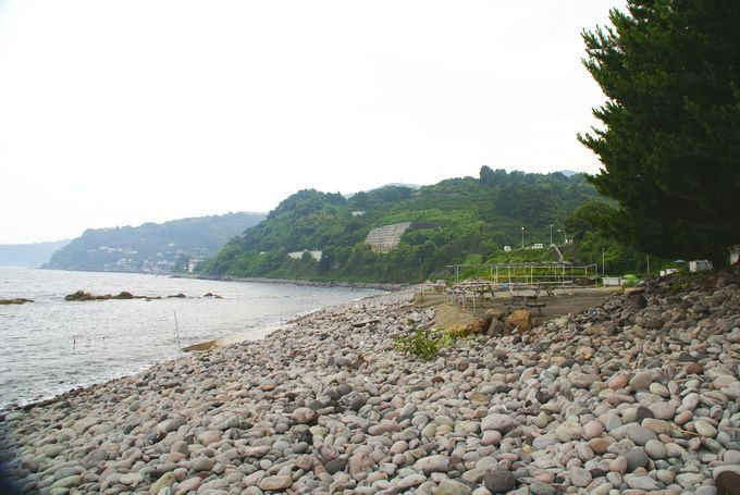 なみのこ村の海岸