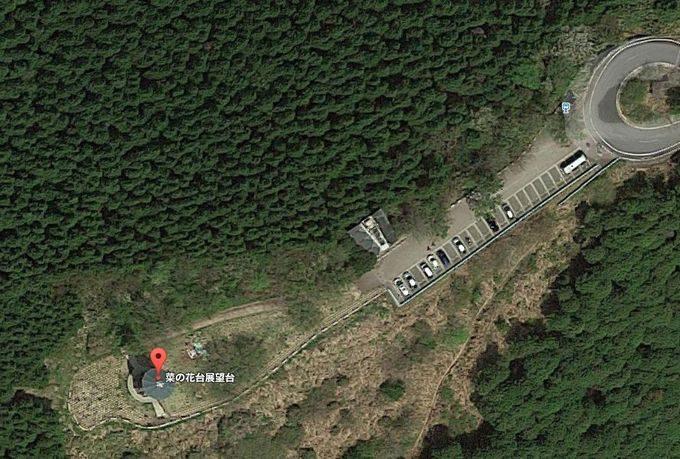 菜の花台展望台 Googleマップ