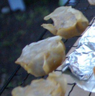 シュウマイの燻製