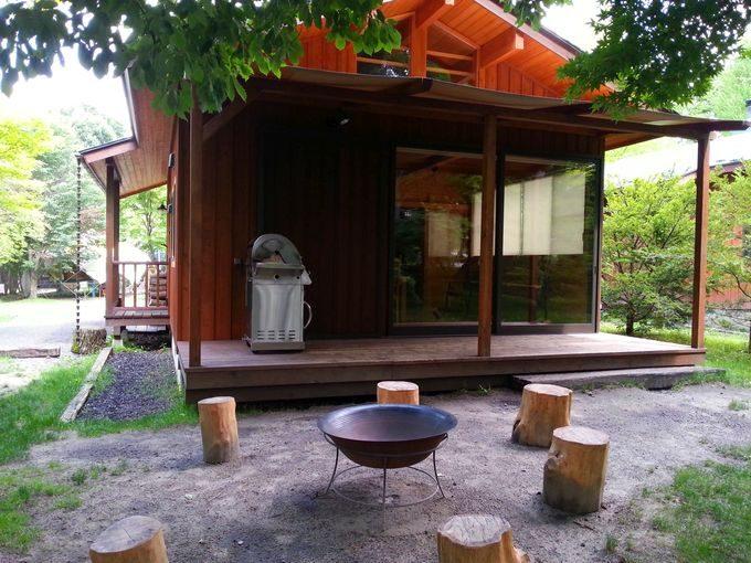 コテージ トントゥの庭