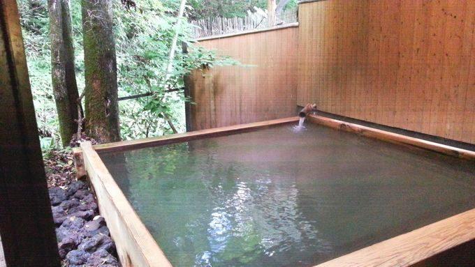 隠れの湯 露天風呂