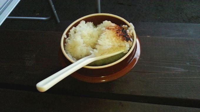 峠の釜めしの釜で炊飯
