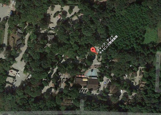 キャンプ・アンド・キャビンズ那須高原 Googleマップ