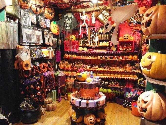 売店のハロウィン商品
