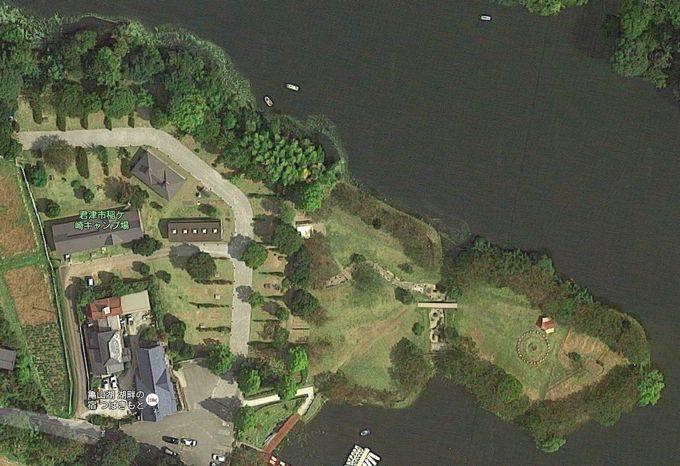 稲ヶ崎キャンプ場 Googleマップ