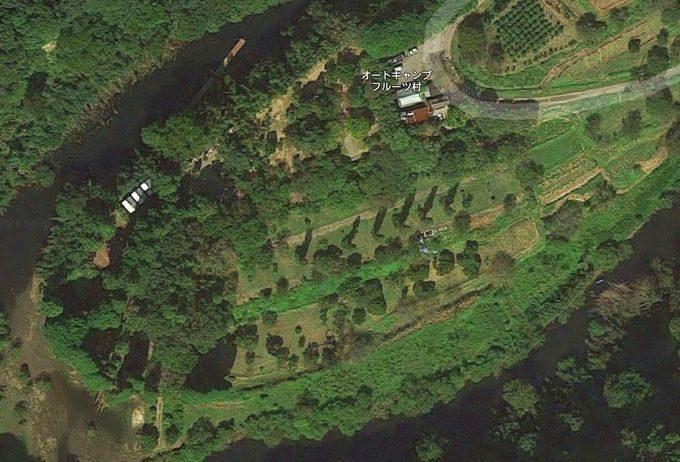 オートキャンプ・フルーツ村 Googleマップ