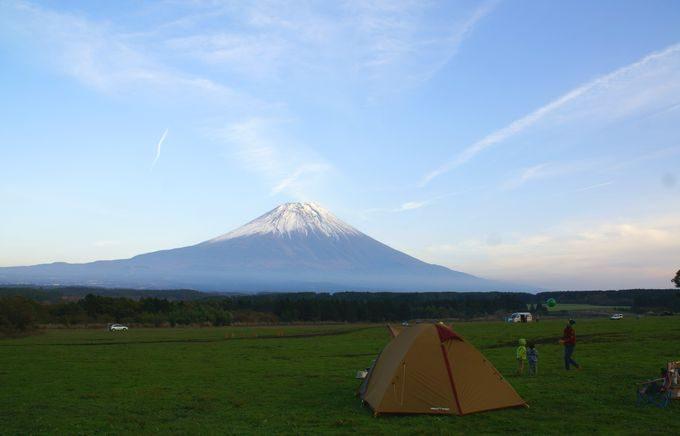 アメニティドームと富士
