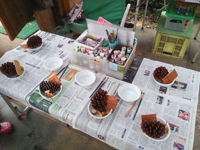 クリスマスツリー作り 体験教室