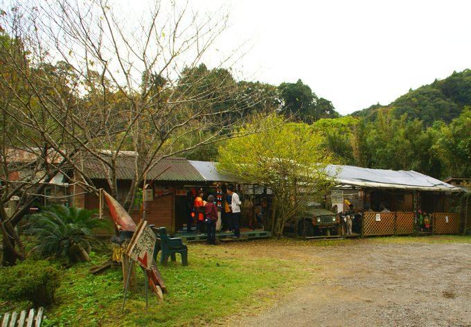 オートキャンプ・フルーツ村の管理棟
