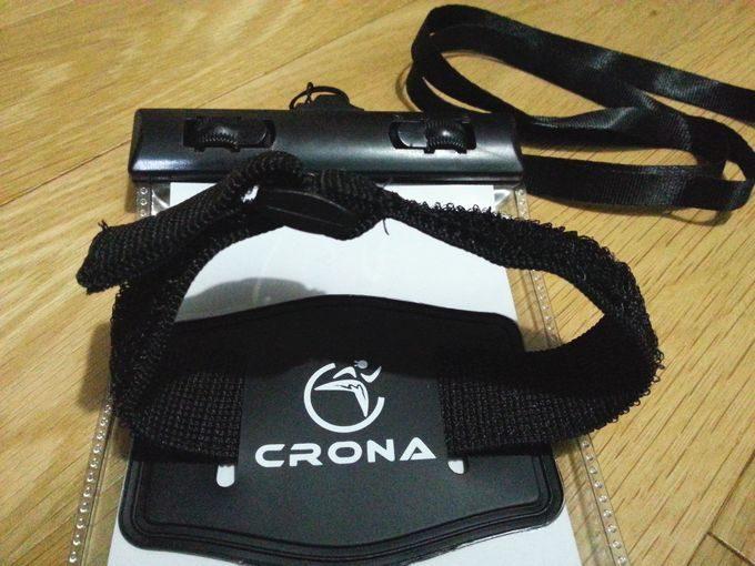 CRONAスマホ防水ケース アームバンド