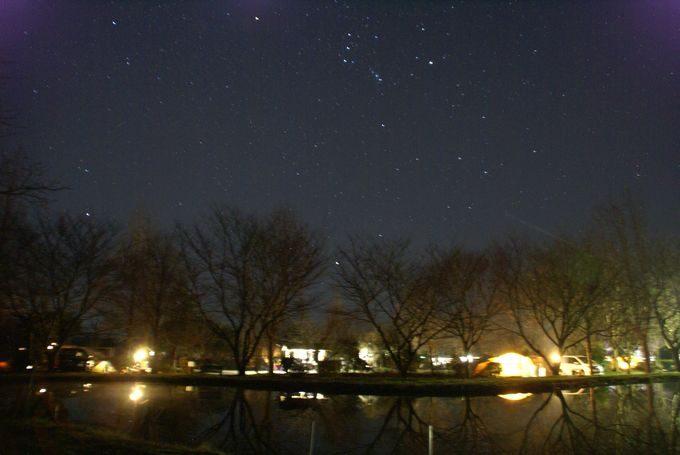 イレブンオートキャンプパーク 星空2