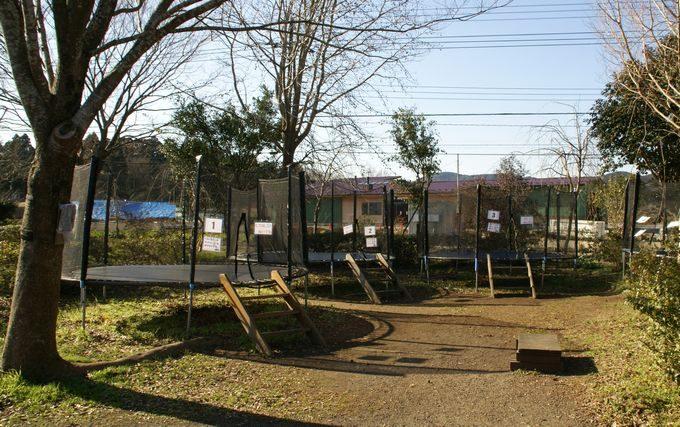 イレブンオートキャンプパーク トランポリン
