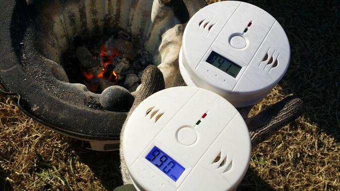 一酸化炭素警報器の動作確認