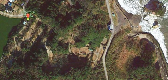 ワイルドキッズ岬オートキャンプ場 Googleマップ