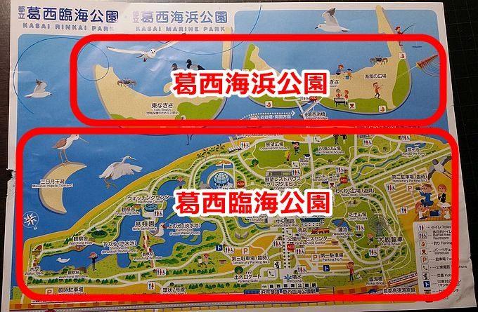 葛西臨海公園と葛西海浜公園の違い