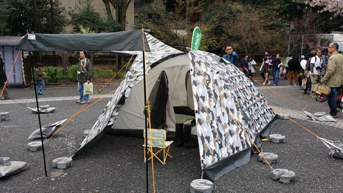 ロゴス ベーシックドーム・PLR XL(カモフラ)