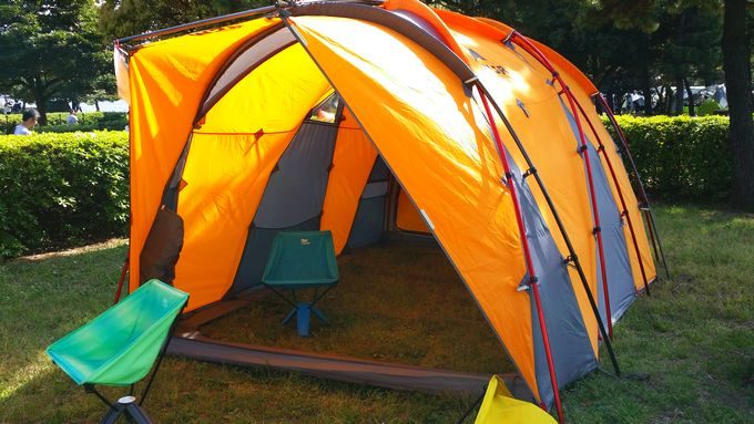 MSRのテント「HUB」
