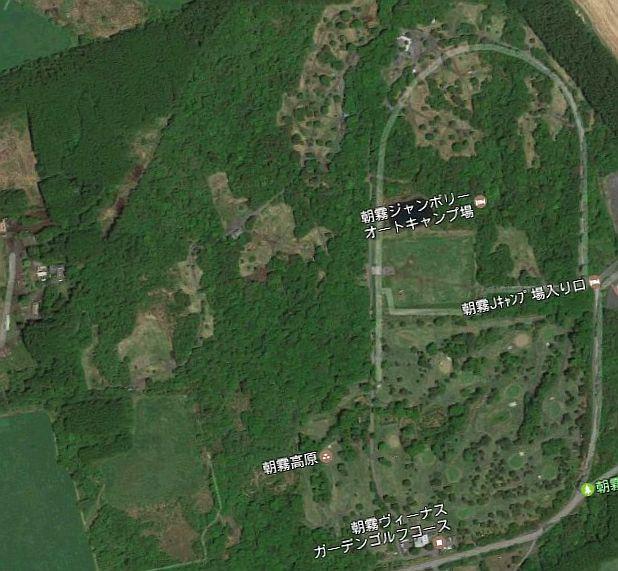 朝霧ジャンボリー オートキャンプ場 Googleマップ