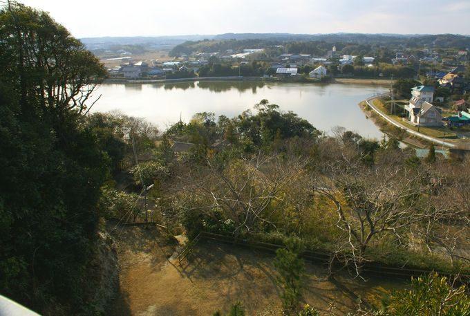 ワイルドキッズ岬の橋からの眺め