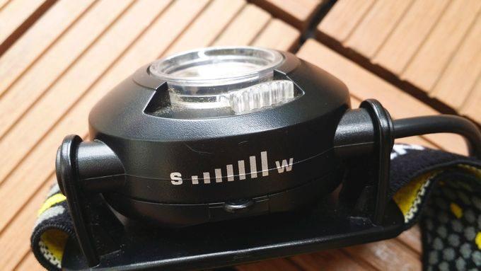 ジェントスのヘッドライト HW-999H フォーカス調整