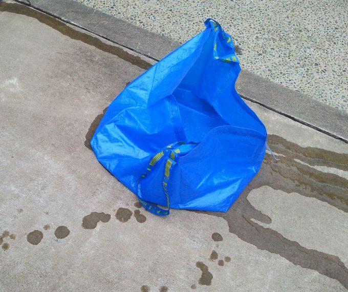 IKEAバッグの水漏れ