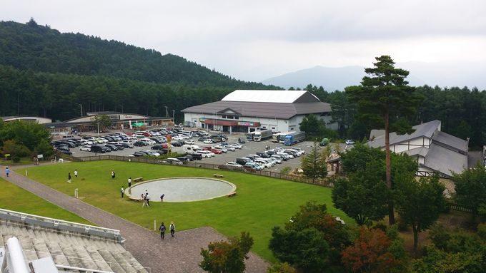 富士山レーダードームからの眺め 1