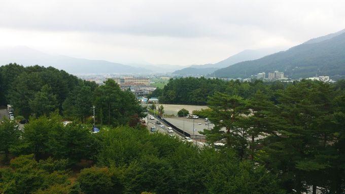 富士山レーダードームからの眺め 2