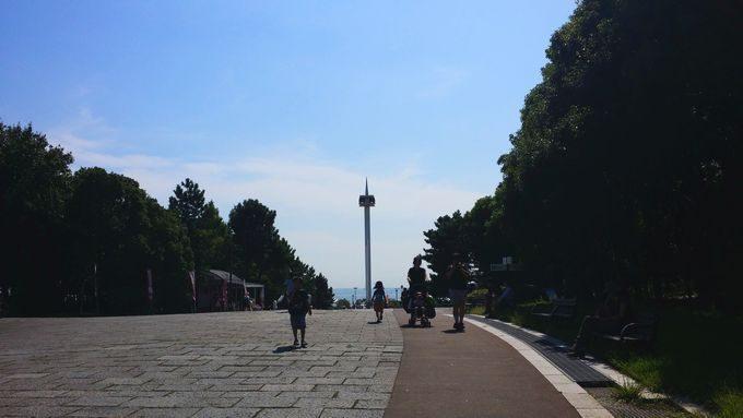 葛西臨海公園からのなぎさ橋