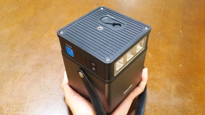 imuto DIGI POWER CUBE M5 サイズ感