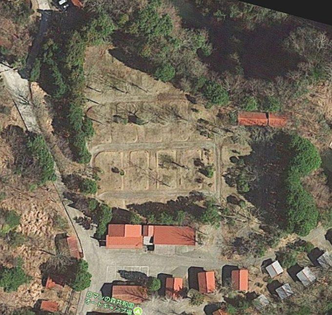 ロマンの森共和国 キャンプ場 Googleマップ