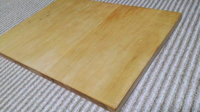 キャンプで使う木製のおしゃれラック用の板