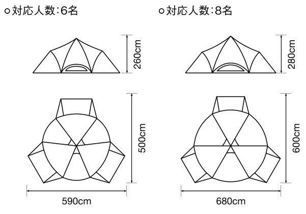 スピアヘッド Proのサイズ比較